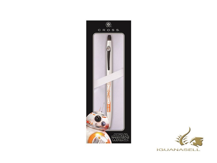 Cross Click Ballpoint pen, Lacquer, White, Polished, Special edition, AT0625SD Cross Ballpoint pen