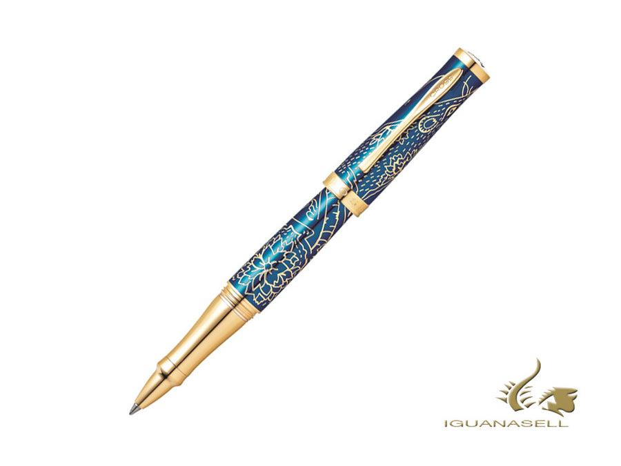 Cross Sauvage Year of the Rat 2020 Rollerball pen, Blue, AT0315-23 Cross Rollerball pen