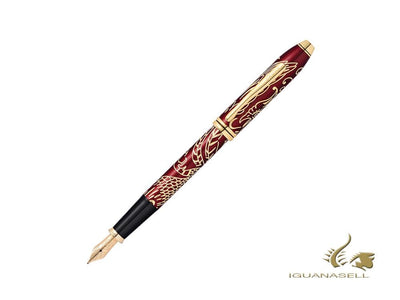 Cross Townsend Year of the Rooster 2017 Fountain Pen, Lacquer, Red
