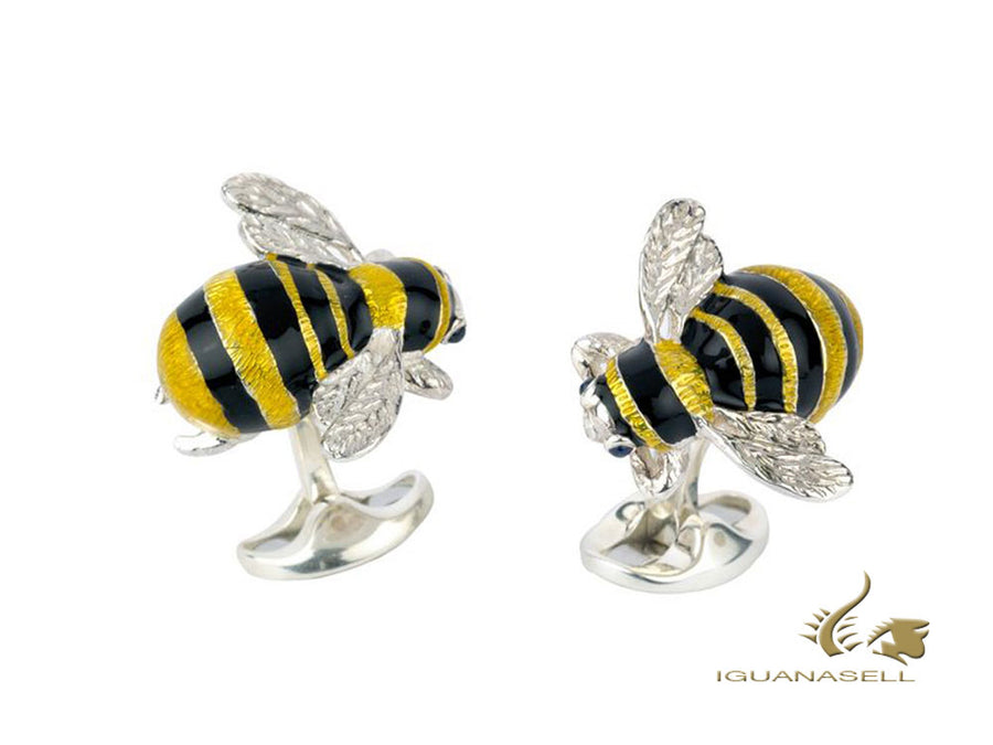 "Deakin & Francis ""Bumble Bee"" The Country Gent Cufflinks, C1567S0001 Deakin & Francis Cufflinks"