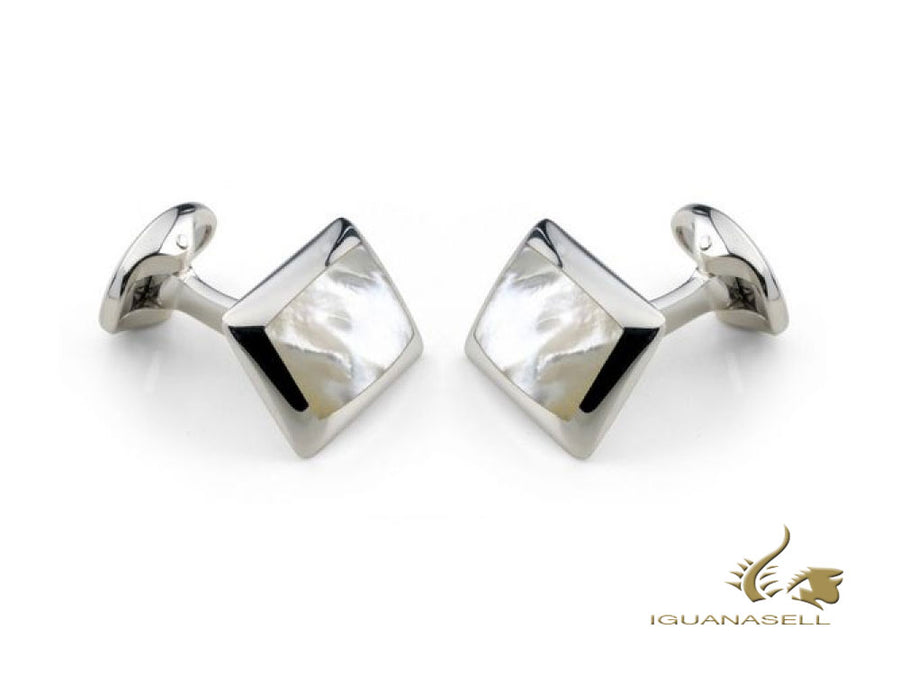 Deakin & Francis Classics Cufflinks, Mother-of-pearl, White, C0146X0003 Deakin & Francis Cufflinks