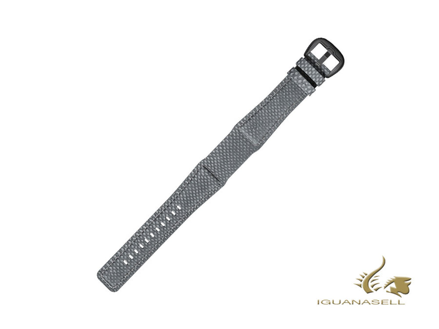 Dietrich Karung Strap, Grey, 22mm, Buckle, Stainless Steel