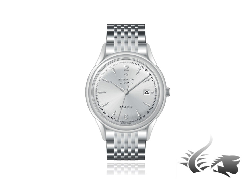 Eterna Heritage 1948 Gent Automatic Watch, SW 300-1, 40mm, 2955.41.13.1741