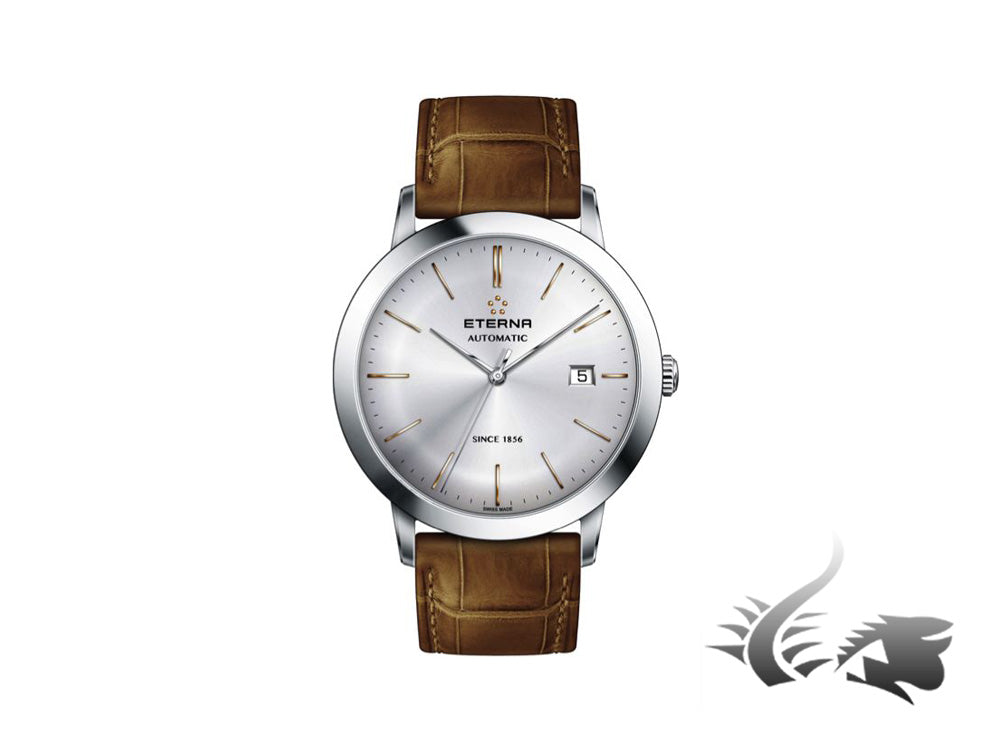 Eterna Eternity Gent Automatic Watch, SW 200-1, 40mm, Leather, 2700.41.11.1384