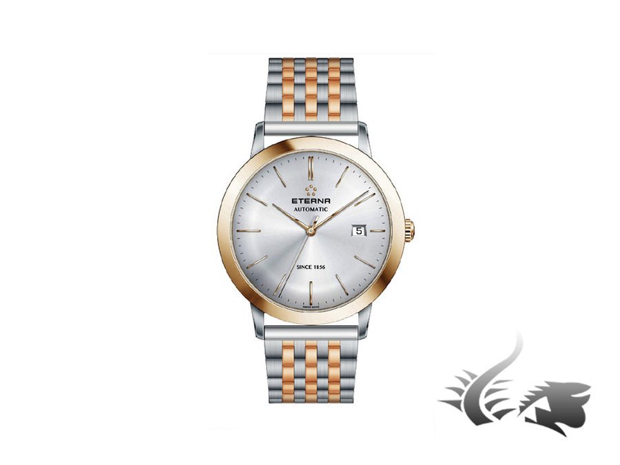Eterna Eternity Gent Automatic Watch, SW 200-1, PVD, 40mm, 2700.53.11.1737