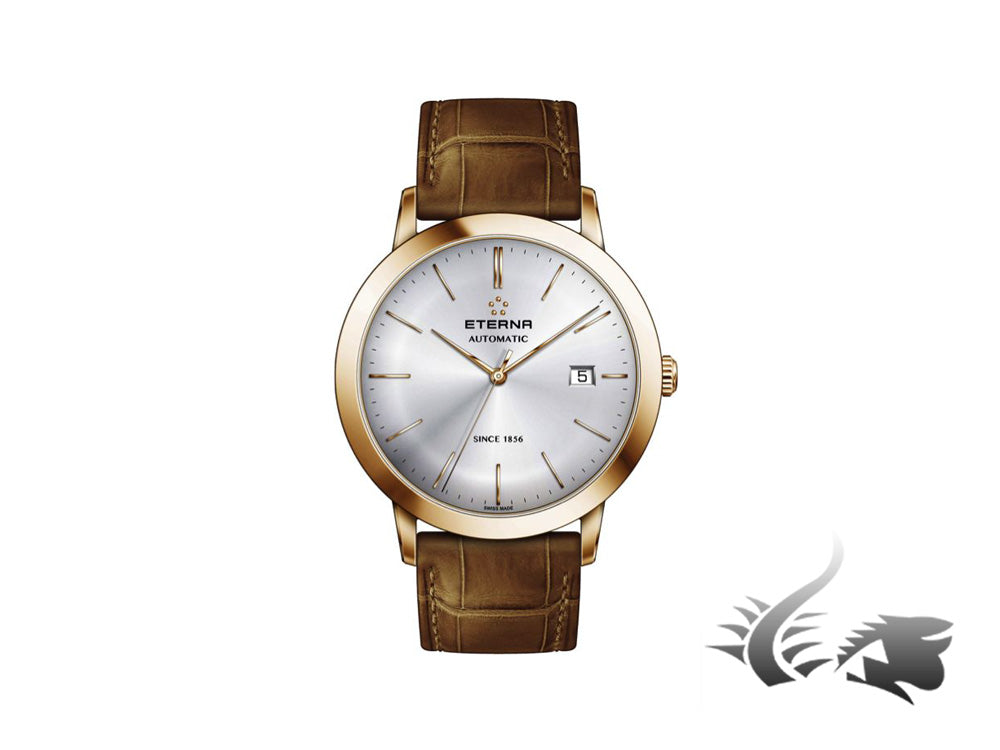 Eterna Eternity Gent Automatic Watch, SW 200-1, PVD, 40mm, 2700.56.11.1391