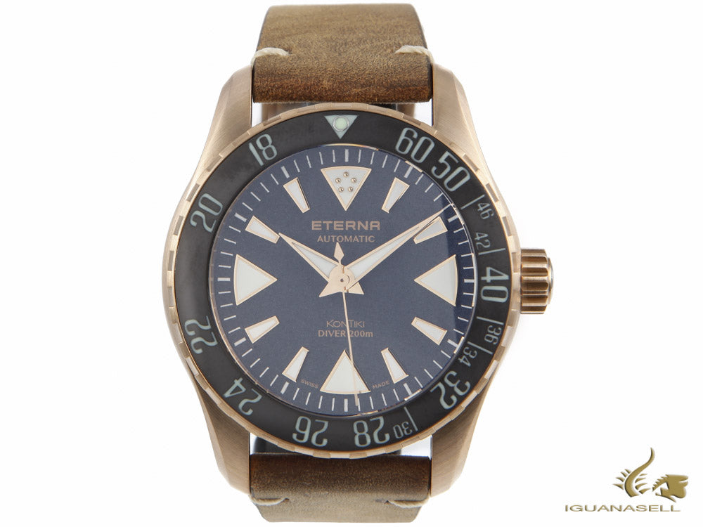 Eterna KonTiki Bronze Manufacture Automatic Watch, EMC 3902 A, Limited Edition