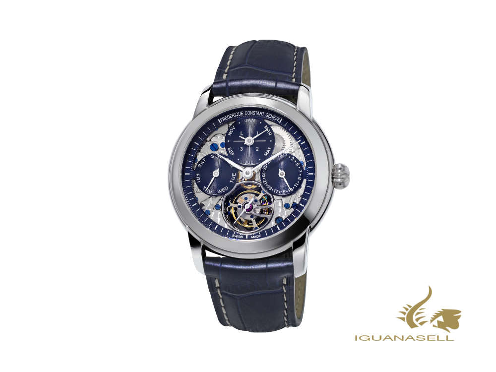 Frederique Constant Classic Tourbillon Manufacture Watch Limited Ed., FC-975N4H6