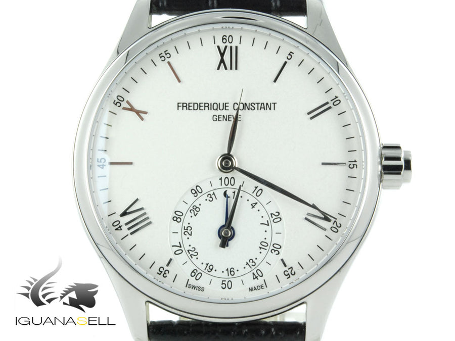 Frederique Constant Horological Smartwatch, GMT, Alarm, Day, FC-285S5B6 Frederique Constant Quartz Watch
