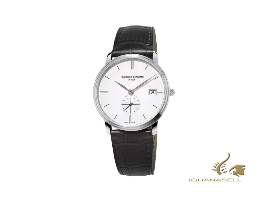 Frederique Constant Slimline Gents Quartz Watch, White, 37mm, FC-245S4S6 Frederique Constant Quartz Watch