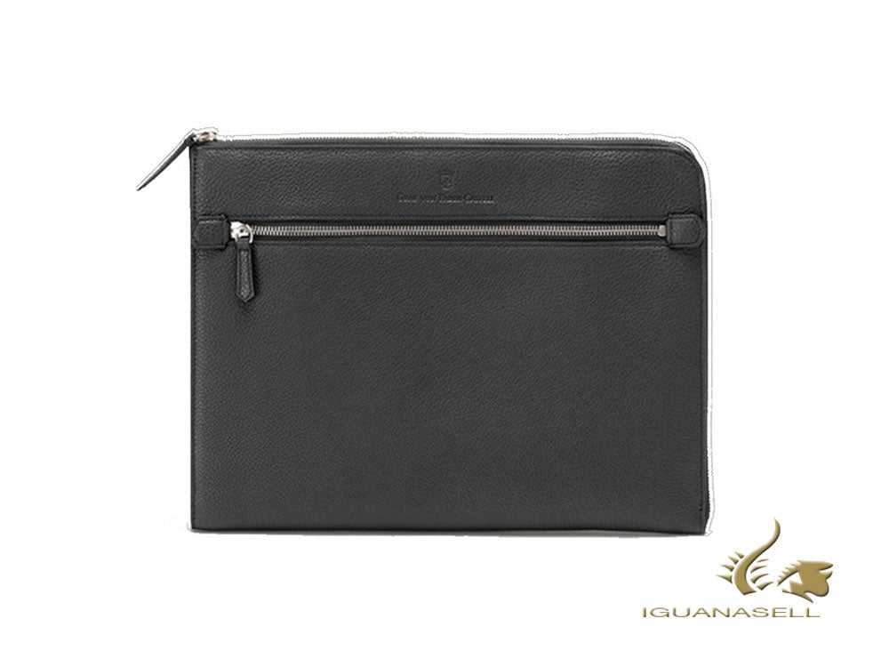 Graf von Faber-Castell Cashmere Document case, Calfskin Leather, Black, G118691 Document case