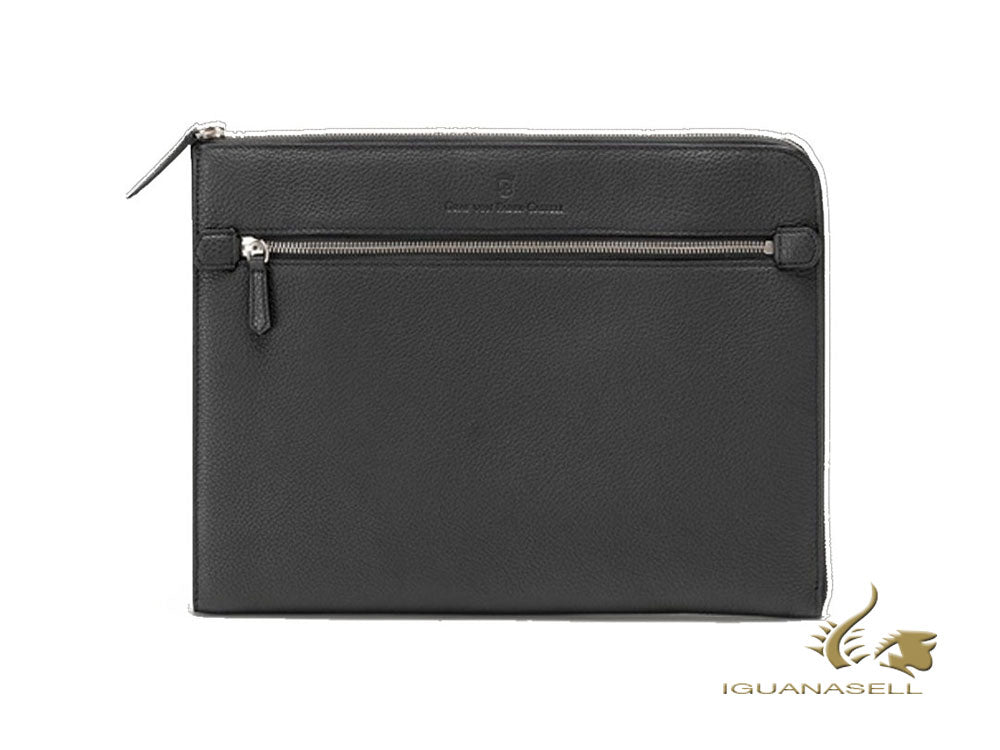 Graf von Faber-Castell Cashmere Document case, Calfskin Leather, Grey, G118689 Document case