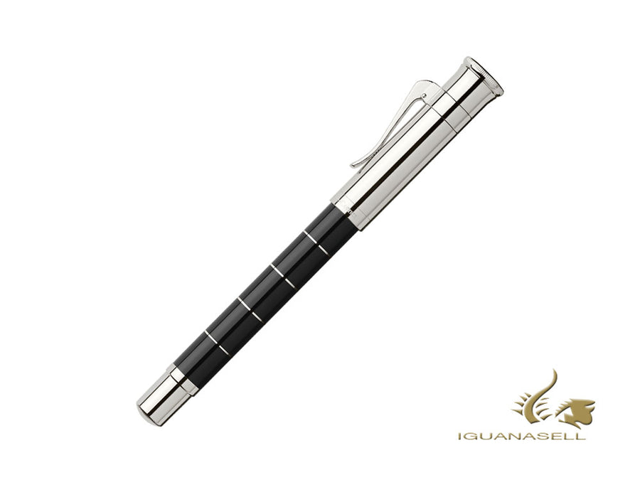 Graf von Faber-Castell Classic Anello Fountain Pen, Black, 145770