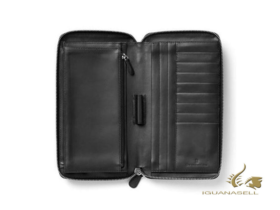 Graf von Faber-Castell Epsom Travel document case, Leather, 8 Cards, 118960 Graf von Faber-Castell Travel document case