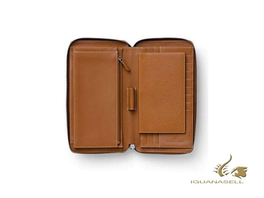 Graf von Faber-Castell Epsom Travel document case, Leather, 8 Cards, G118961 Graf von Faber-Castell Travel document case