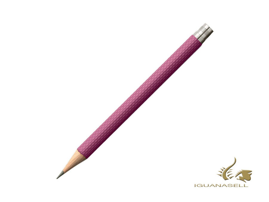 3 Graf von Faber-Castell Guilloche pocket Pencil for Perfect Pencil, Pink Graf von Faber-Castell Pencil