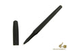 Hugo Boss Essential Matte Black Rollerball pen, Brass, Lacquer, Mat, Black