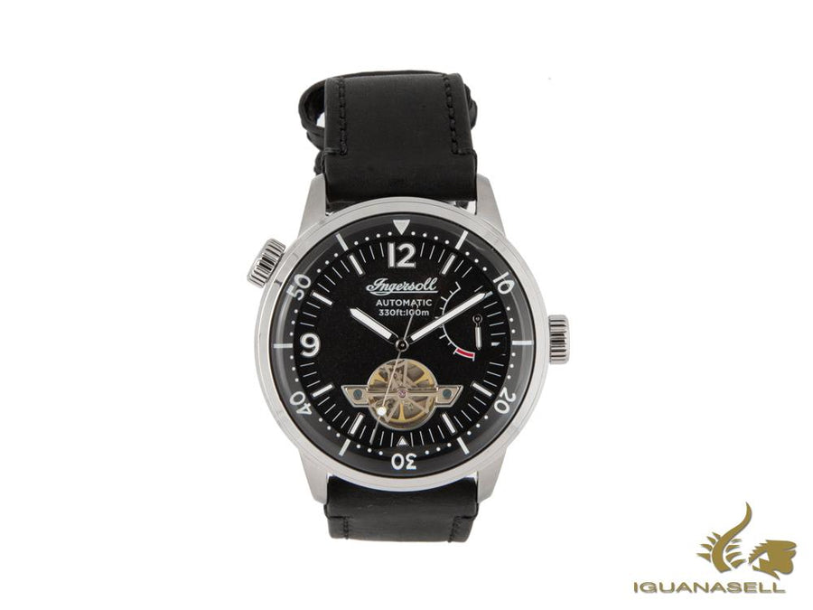 Ingersoll New Orleans Automatic Watch, 47mm, Black, 10 atm, I07801