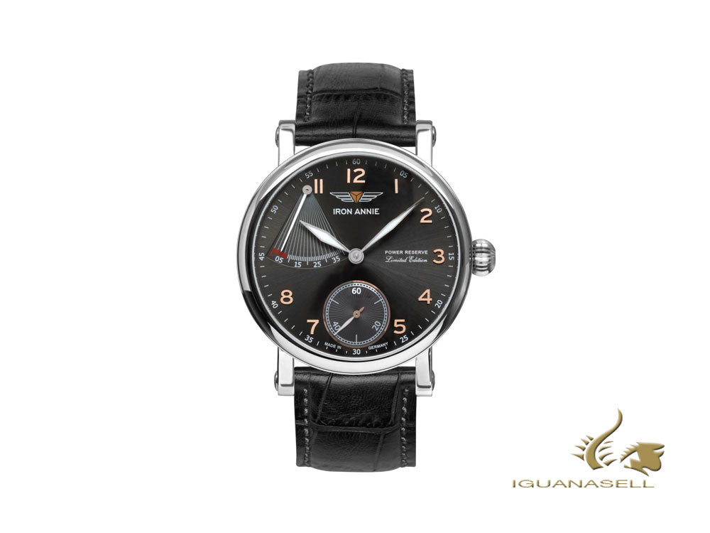 Iron Annie Anniversary Model 30 Years Automatic Watch, Black,  Limited Edition