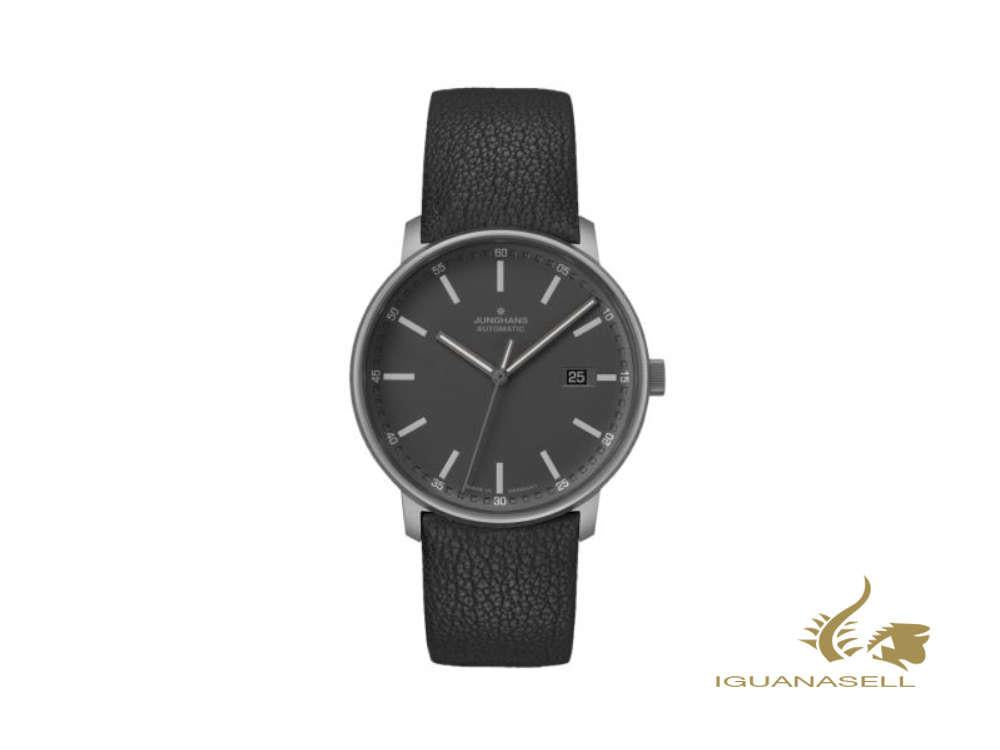 Junghans Form A Titan Automatic Watch, 40 mm, Black, Day, 027/2001.00