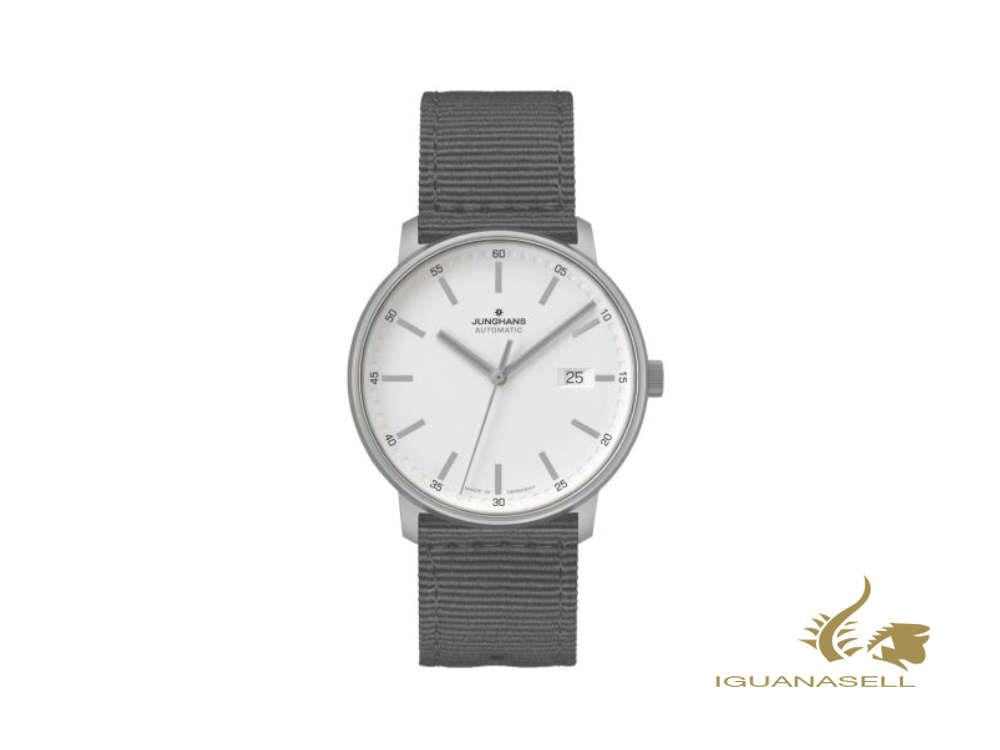 Junghans Form A Titan Automatic Watch, 40 mm, Silver, Black, Day, 027/2000.00