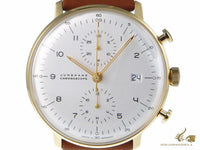 Junghans Max Bill Chronoscope Automatic Watch, J880.2, PVD, 40mm, 027/7800.00