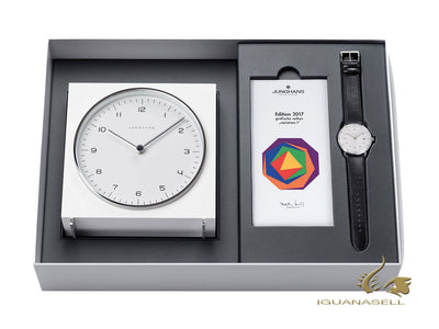 Junghans Max Bill Quartz Edition Set 2017, 38mm, Silver, Limited Edition