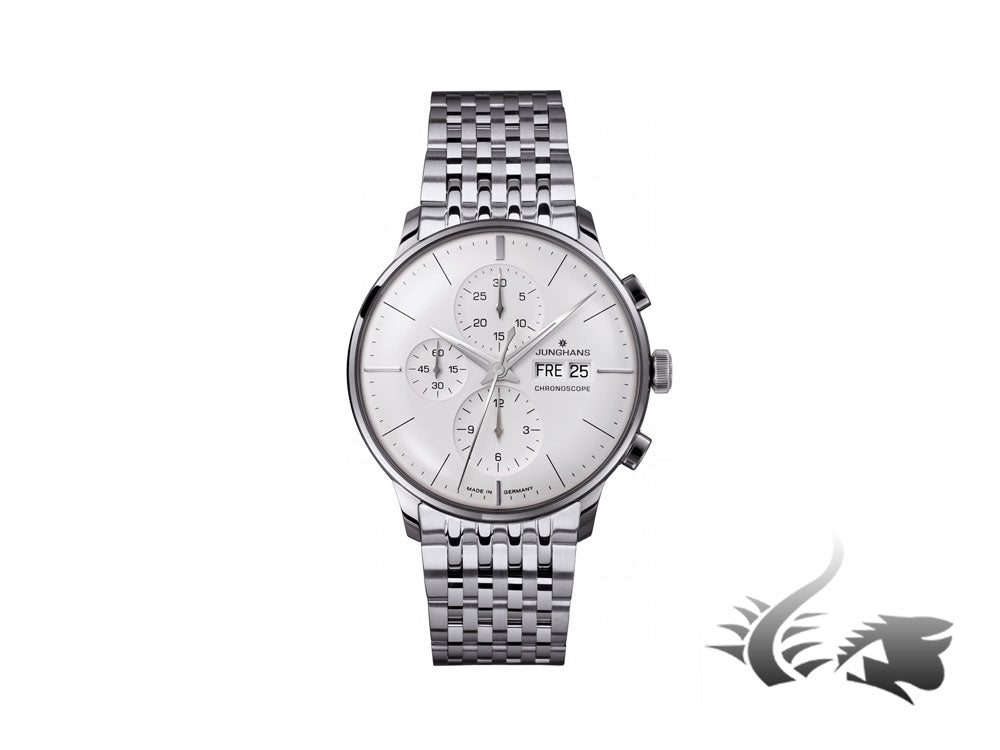 Junghans Meister Chronoscope Automatic Watch, J880.1, Day and date, 027/4121.44