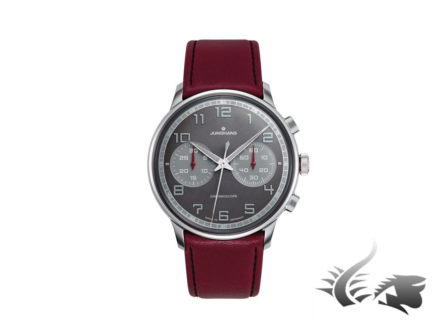 Junghans Meister Driver Chronoscope Automatic Watch, J880.3, 40,8mm, 027/3685.00 Junghans Automatic Watch