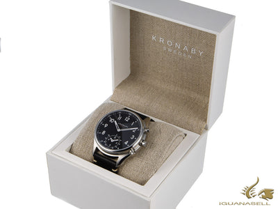 Kronaby Apex Quartz Watch, Black, 43mm, 10 atm, A1000-1399
