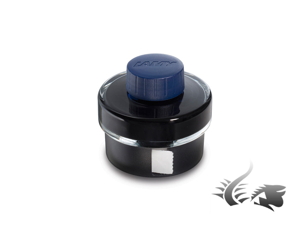 Lamy Ink Bottle, Blue/Black, 50m., Crystal, 1208936