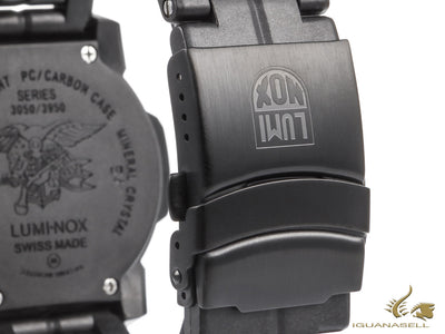 Luminox Navy Seal Colormark Quartz watch, Black, XS.3052.BO
