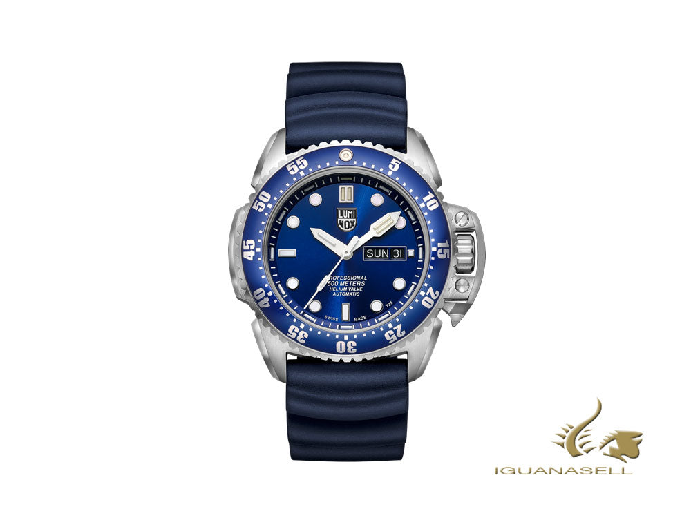 Luminox Scott Cassell Deep Dive Automatic Watch, Blue, Special Ed, XS.1523