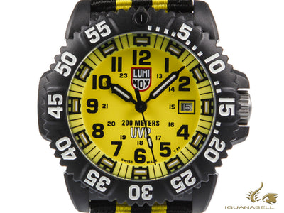 Luminox Sea Scott Cassell Special Edition Quartz Watch, Carbon, XS.3955.SET