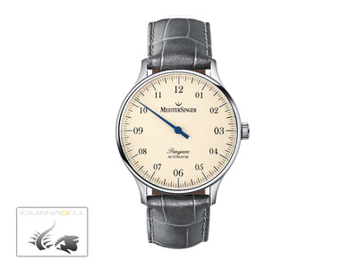 Meistersinger Pangaea Automatic Watch, 40mm. ETA 2892-A2, Leather strap, PM903