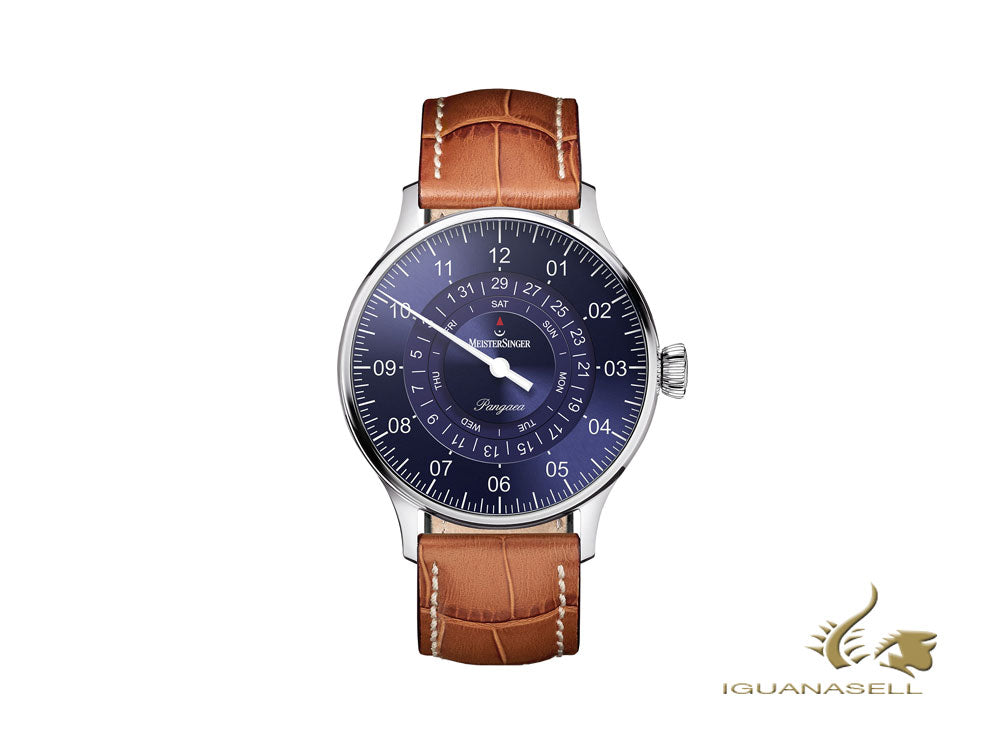Meistersinger Pangaea Day Date Automatic Watch, ETA 2836-2, 40mm. PDD908-SG03W