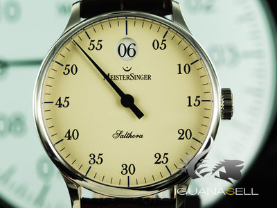 Meistersinger Salthora Automatic Watch, 40mm. ETA 2824-2, SH903