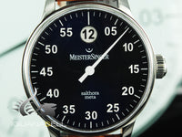Meistersinger Salthora Meta Automatic Watch, 43mm. ETA 2824-2, SAM908-SG03