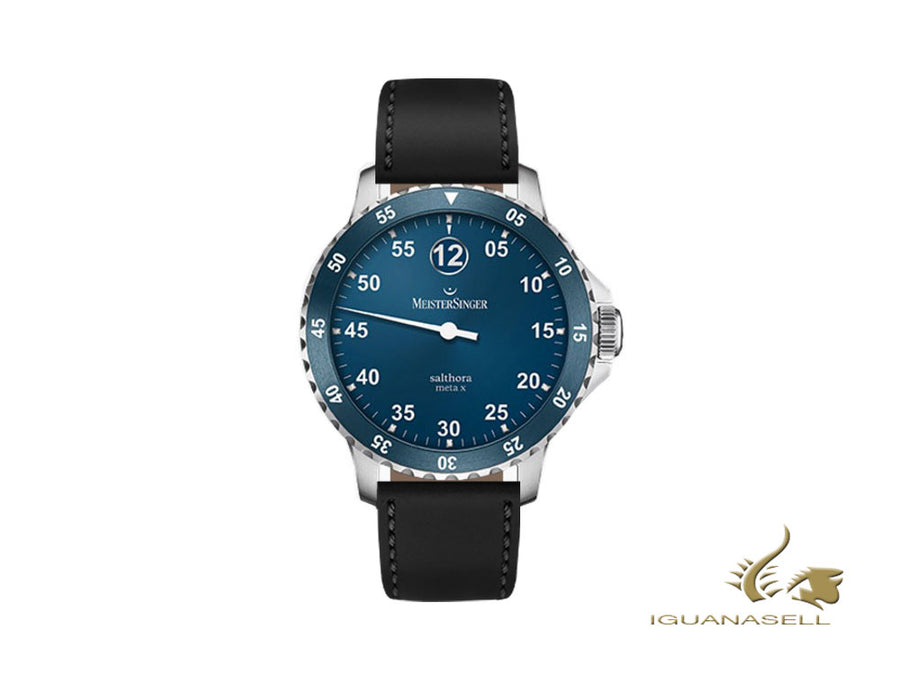 Meistersinger Salthora Meta X Automatic Watch, ETA 2824-2, Blue/Black, 20 atm Meistersinger Automatic Watch
