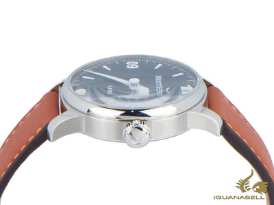 Meistersinger Urban Blue Automatic Watch, 40mm, brown Cordovan, UR908-SCF13 Meistersinger Automatic Watch