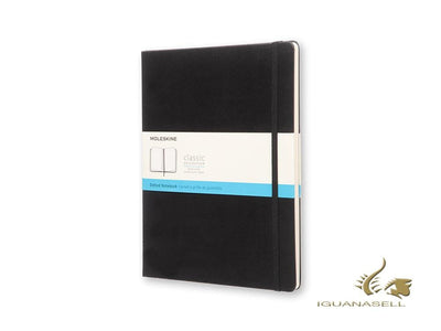 Moleskine Hard cover Notebook, X-Large (19 x 25 cm), Dotted, Black, 240 pages