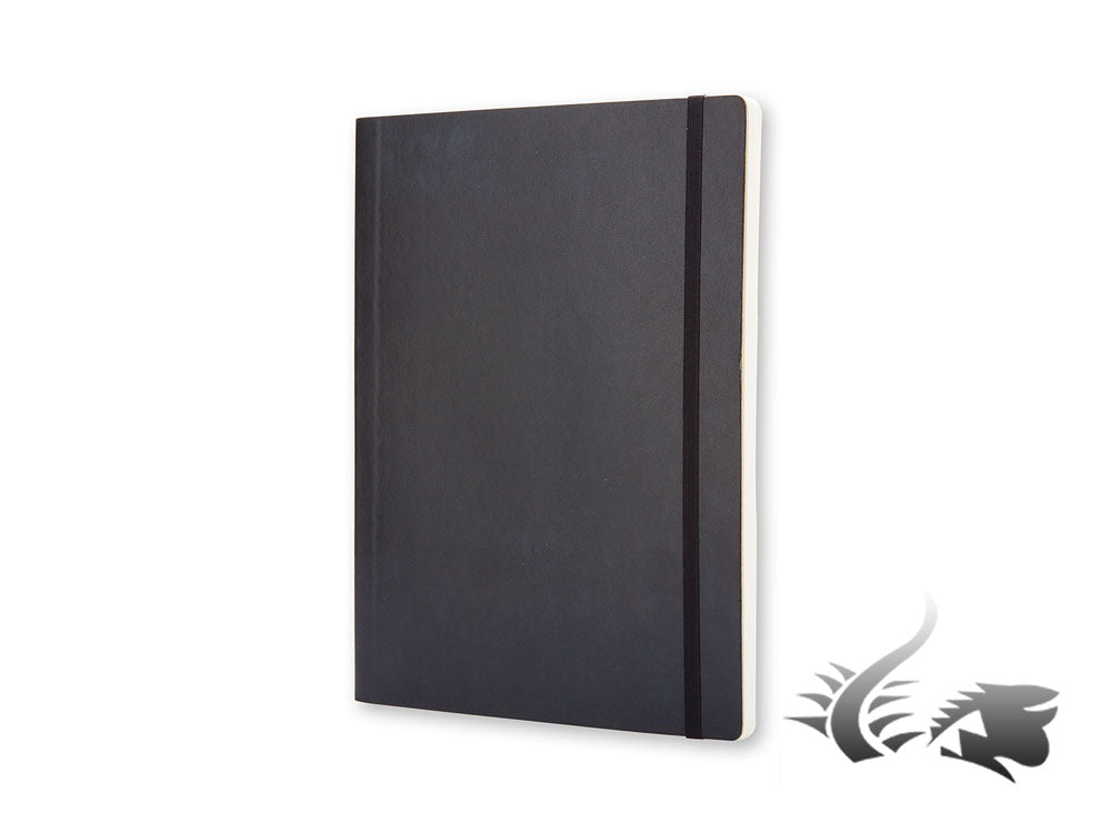 Moleskine Classic Soft cover Notebook, X-Large, Squared, Black, 192 pages