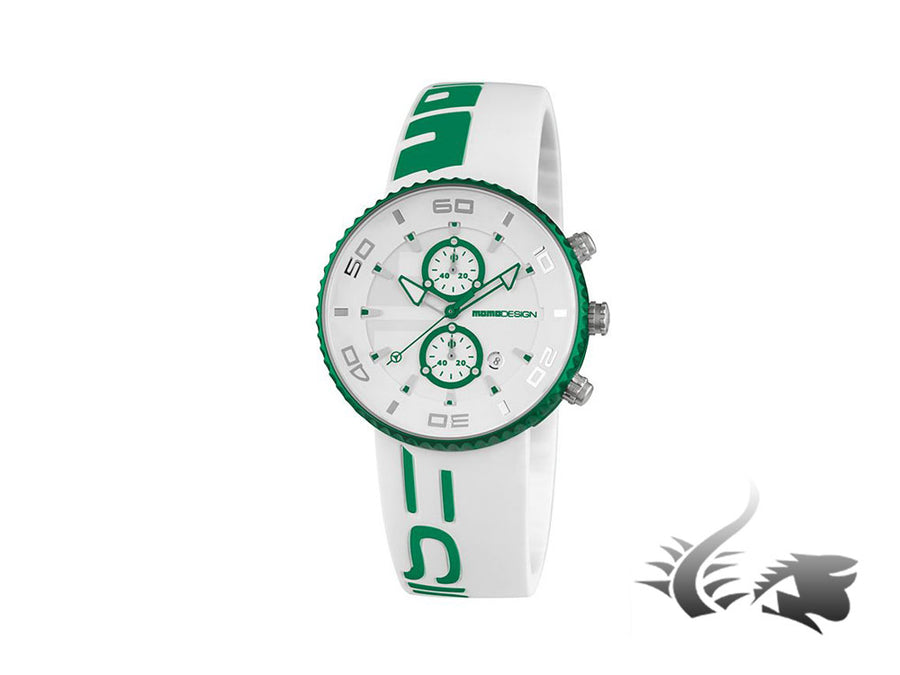 Momo Design Jet Aluminium Quartz watch, Aluminium, Cronograph, 43mm., 5 atm.