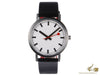 Mondaine Classic Pure Quartz watch, White, 36mm, A660.30314.16OM