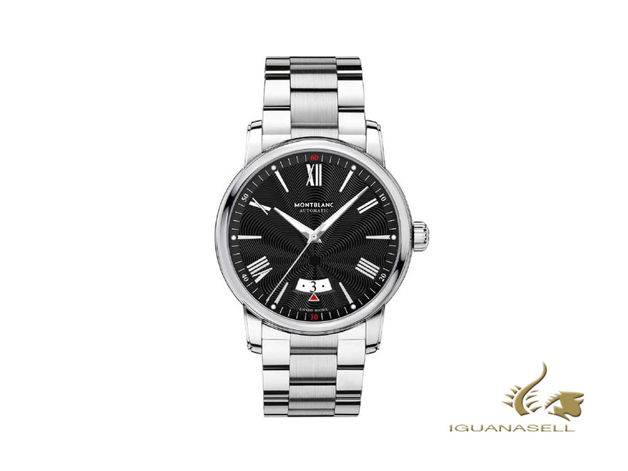 Montblanc 4810 Automatic Watch, 42 mm, Black, Rhodium, 115935 Montblanc Automatic Watch
