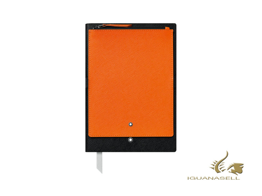 Montblanc A5 Notebook, Black/Orange, 192 pages 119482 Montblanc Notebook