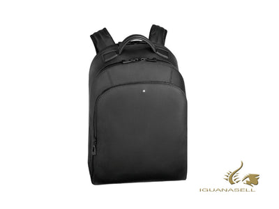 Montblanc Extreme 2.0 Backpack, Leather, Black, Laptop compartment, Zip, 123937 Montblanc Backpack