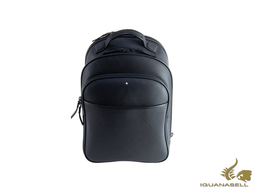 Montblanc Extreme Backpack, Leather, Black, Laptop compartment, Zip, 113856 Montblanc Backpack