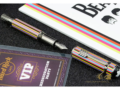 Montblanc Great Characters The Beatles Fountain Pen, Lacquer, 116256 Montblanc Fountain Pen