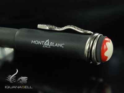 Montblanc Heritage Rouge & Noir Fountain Pen, Limited Edition, 114728